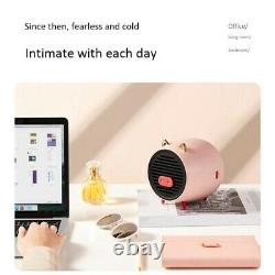 10XSmall Air Heater Mini Portable Office Home Desktop with Overheat Protection