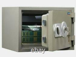1 Hour Fire Resistant Home Office Security Heavy Duty Safe with Key Lock