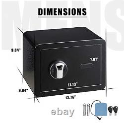 Biometric Safe Box Fingerprint for Home, Office, Hotel Small Electronic Security