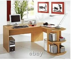 Bush Furniture Beech Workcentre for Home Office or Small Business Use