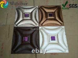 Cheap interior wall paneling ceiling decoration 3d wallpaper 3d leather wall pan