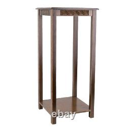 Chinese Oriental Luxury Carved Side Table for Home Entrance Office Antique Stand