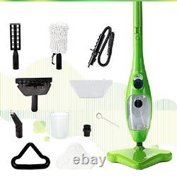 H2O Mop X5 Basic Mop 5 in 1 All Purpose Hand Held Steam Cleaner for Home Use, 11