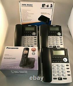 Home Small Office PBX308 Phone System with 3 x Uniden ext' phones & 1 x DECT-NEW