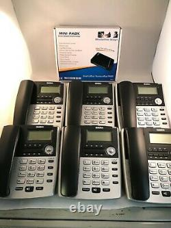 Home Small Office PBX 308 Telephone System with 8 x Uniden extension phones-NEW