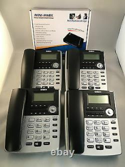 Home Small Office Pbx 308 Telephone System And 4 Bt Phones Brand New
