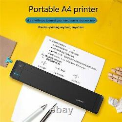 MT800 Home Small Printer Portable Office Wireless Bluetooth A4 Paper Printing