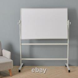 Magnetic Whiteboard Easel Flipchart Drawing Board Home Office School Small to XL
