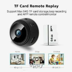 Mini Hidden Camera Rechargeable Safety Camcorder For Home Office Security DI