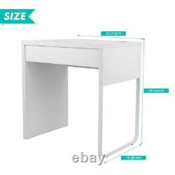 Modern Simple Computer Desk Laptop Table WithDrawer Workstation Home Office Study