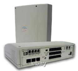 NEW HOME SMALL OFFICE TELEPHONE SYSTEM SWITCHBOARD PBX 408 2x DESK PHONES HYBREX