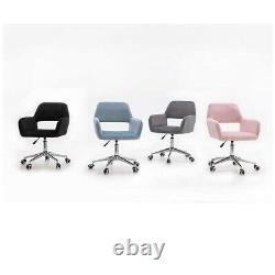 Office Chair Swivel Desk Chairs Small Adjustable Computer Chair for Home Student