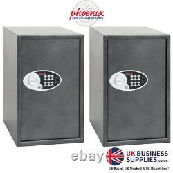 Phoenix Vela Home & Office Electronic Security Safe (SS0805E) Personnel