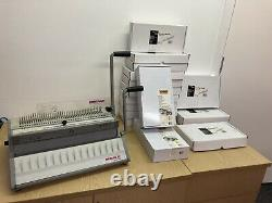Renz SRW Binding Machine with Binding Wires Bundle Ideal for Small/Home Office