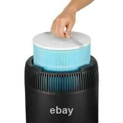 SAFE + MATE True HEPA Air Purifier Air Cleaner Home or Office Black