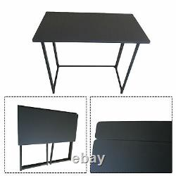 Small Foldable Computer Desk Folding Laptop PC Table Home Office Study Gaming