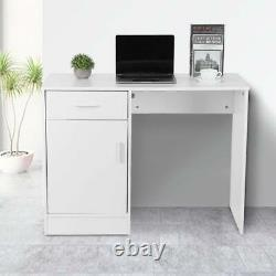 Small Office Computer Desk Drawer Study PC Writing Gaming Table Home Workstation