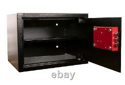Ultimate Safe 16L Home Office Money Safe Box with Key High Security Lock
