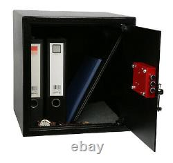 Ultimate Safe 37L Home Office Money Safe Box with Key High Security Lock