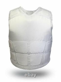 VestGuard UK made Covert Body Armour KR1 SP1 Home Office Stab and Spike vest