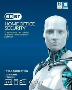 Eset Small Home Office Security 2020 10 Device + 1 File Sever 1 Year Email Key
