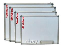 Office School Home Magnetic Whiteboard Dry Wipe Drawing Board Small Medium Large
